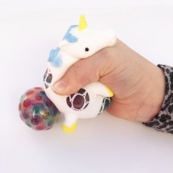 UNICORN SQUEEZE BALL -...