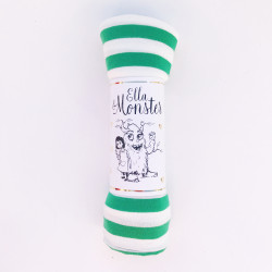 STRIPED FUNNY TUBE - GREEN...