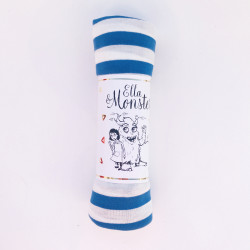 STRIPED FUNNY TUBE - BLUE -...