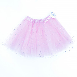 TULLE SKIRT WITH STARS -...