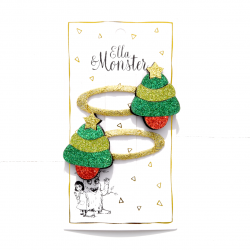 CHRISTMAS TREE HAIR CLIP -...