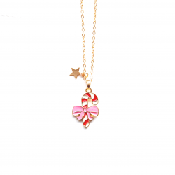 CANDY CANE NECKLACE – 6'er...