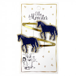 GOLD HORSE HAIR CLIP – 6'ER...