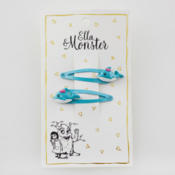 DOLPHIN TURQUOISE HAIR CLIP...