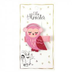 HAIR CLIP GLITTER OWL -...